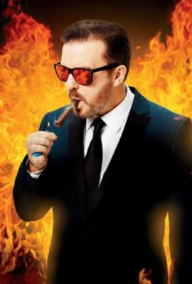 """Gervais: """"It's going  to be biblical"""""""