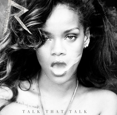 Rihanna's Talk That Talk Deluxe album cover