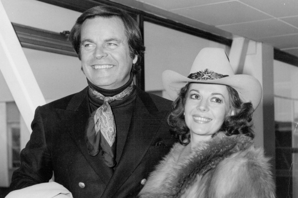 Robert Wagner and Natalie Wood, about a year before her death