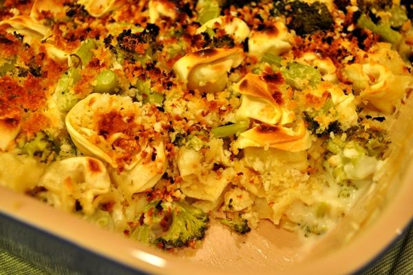 Tortellini makes the perfect casserole