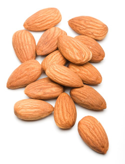 anti-aging food, almonds