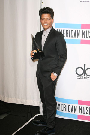 Bruno Mars at the AMAs