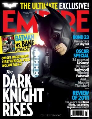 Empire magazine Batman cover