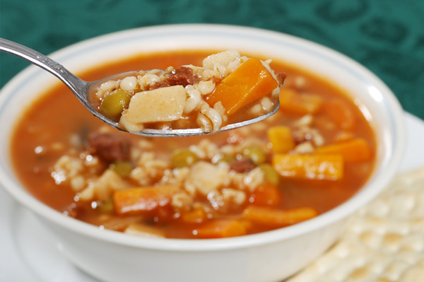 Sunday dinner recipes: Beef and barley soup
