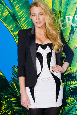 Blake Lively at Versace launch