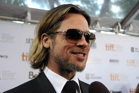 brad pitt quits acting
