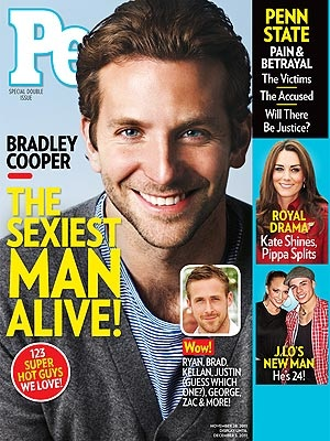 Bradley Cooper on People Magazine