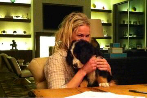 Chelsea Handler adopts a new puppy