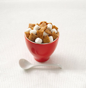Hot Butter Yum Chex Mix