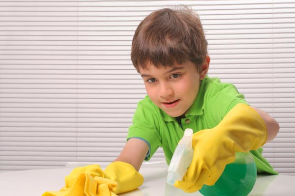 children cleaning - photo #2