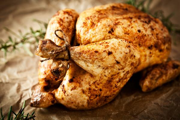 Chipotle rubbed turkey