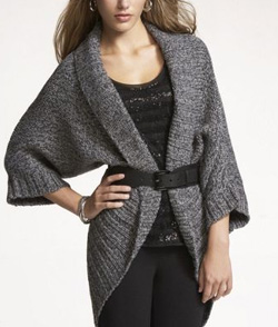 Cocoon Sweater Coat ($108, express.com)
