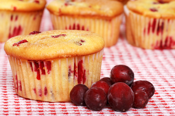 Cranberry orange muffins