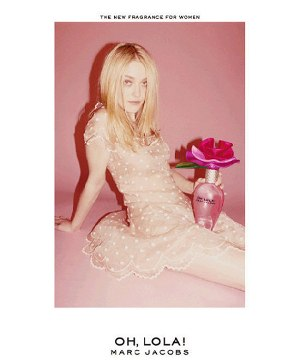 Dakota Fanning -- Marc Jacobs ad