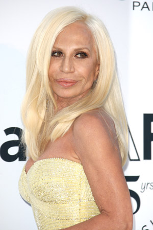 Donatella Versace talks about Versace for H&M