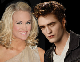 Carrie Underwood and Edward