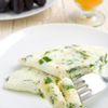 Egg whites substitution for healthy egg white omelet