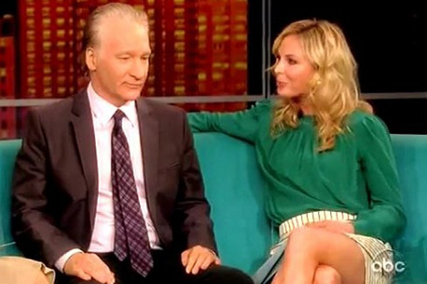 Bill Maher and Elisabeth Hasselbeck on The View