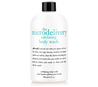 Exfoliating body wash