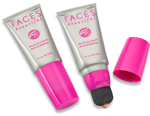 FACES Beautiful Brush-On Liquid Mineral Makeup