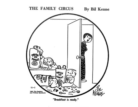 Family Circus: Making parents smile since 1960