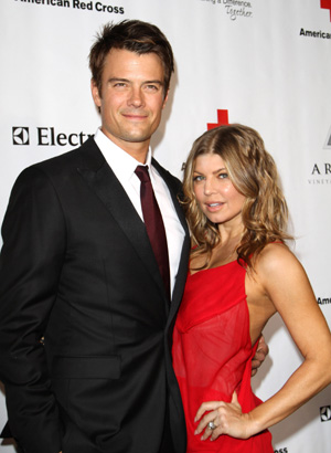 Fergie and Josh Duhamel