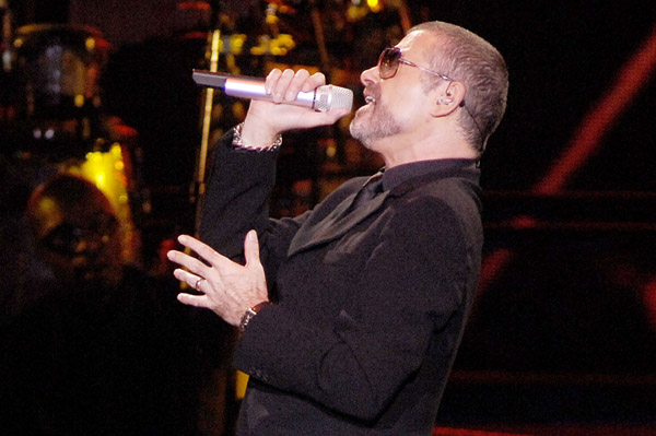 George Michael is improving in health