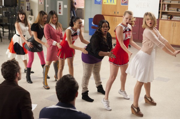 glee's ode to the ladies!