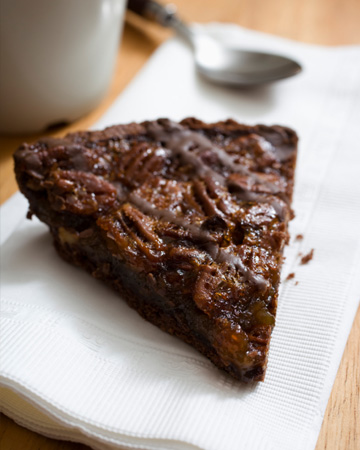 Gluten free pecan chocolate pie