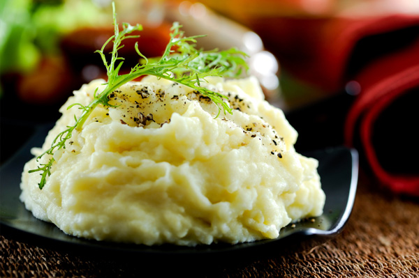 Gourmet mashed potatoes