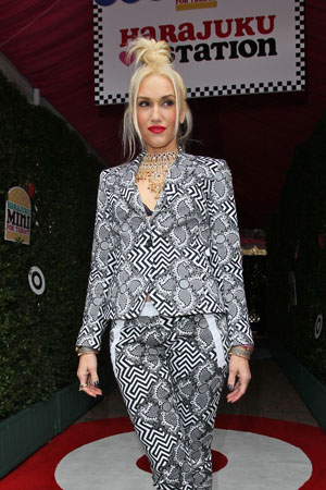 Gwen Stefani launches the Harajuku Mini line for Target