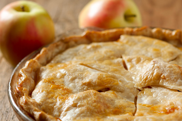 Homemade apple pie, and pie crust recipe