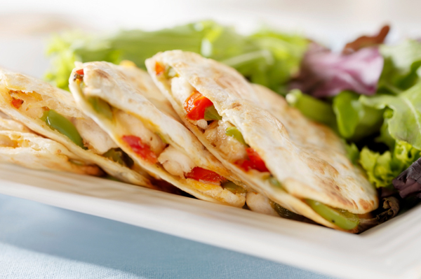 grilled chicken quesadillas ingredients 2 grilled chicken breasts ...