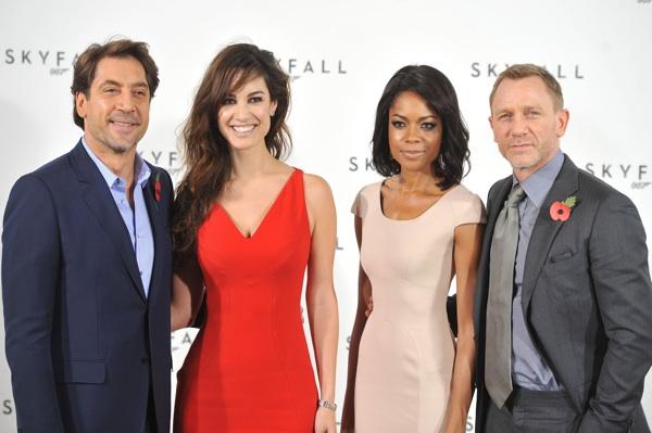 Cast of Sam Mendes' Skyfall