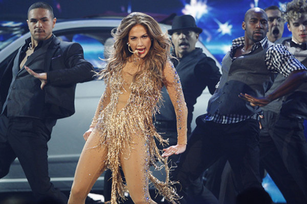 Jennifer Lopez at the AMAs