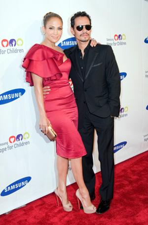 Jennifer Lopez reunites with Marc Anthony
