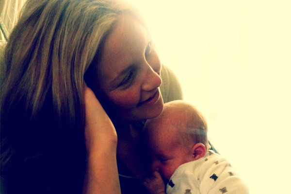 Kate Hudson and son Bingham