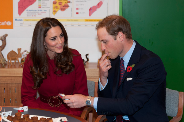 Kate Middleton and Prince William in Denmark at Unicef event