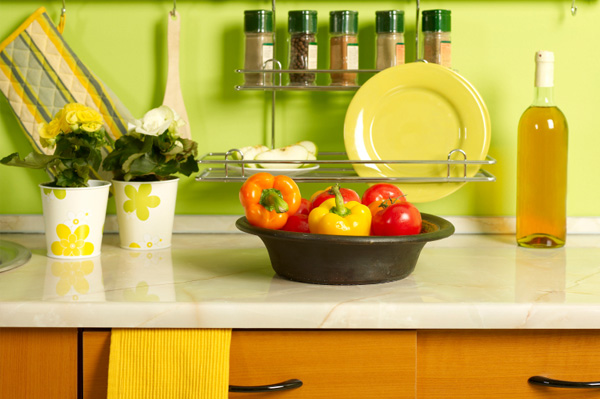Ecclectic kitchen decor
