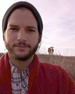 Ashton Kutcher, home on the range? 