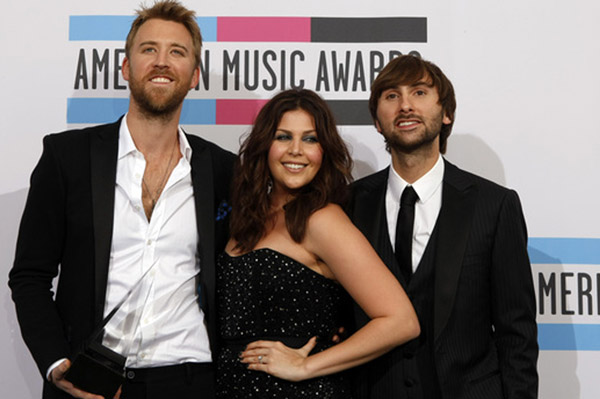 Lady Antebellum won at the AMAs