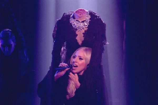 Lady Gaga on UK's The X Factor
