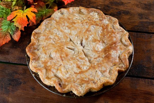 Thanksgiving leftover pot pie