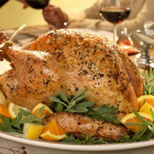 Herb & lemon roasted turkey