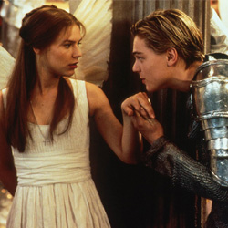 Leonardo DiCaprio in Romeo + Juliet