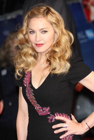 Madonna at WE screening