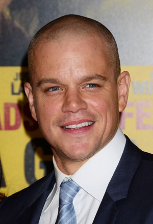 Matt Damon went to a bullfight