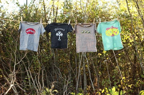 Clothes that send a positive message