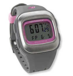 New Balance HRT Fit Komen Stainless Steel Heart Rate Monitor Digital Watch