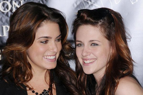 Photo of Kristen Stewart & her friend actress  Nikki Reed - Twilight Saga